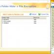 Free Folder Hider with File Encryption 10 full screenshot