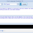 Free Languages Translator 1.0.208 full screenshot