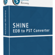 Shine EDB to PST Converter Software 5.5 full screenshot