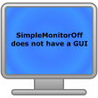 SimpleMonitorOff 1.0.0 full screenshot