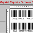 Crystal Reports Barcode Font Encoder UFL 14.11 full screenshot