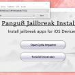 Pangu8 Jailbreak Installer 1.0 full screenshot