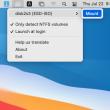 Hasleo NTFS for Mac 4.0 full screenshot