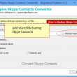 Skype Contacts Converter 1.3 full screenshot