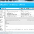 Edb Recovery Software 1.0 full screenshot