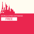 GeoDataSource World Cities Database (Free Edition) January.2018 full screenshot