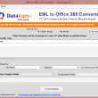 Datavare EML to Office 365 Converter So 1.0 full screenshot