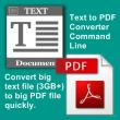 VeryUtils Text to PDF Converter Command Line 2.3 full screenshot
