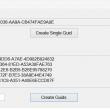 Guid Creator 1.0.0.1 full screenshot
