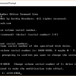Volume Serial Number Editor Command Line 2.02 full screenshot