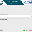 Aryson PDF Protection 18.0 full screenshot