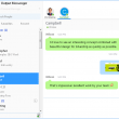 Output Messenger 1.8.3 full screenshot