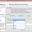 Datavare Outlook Attachment Extractor 1.0 full screenshot