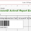 PrecisionID 1D Barcode ActiveX Control 2018 full screenshot