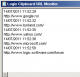 Logix Clipboard URL Monitor 1.2.2.4 full screenshot