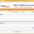DataVare MSG to MBOX Converter Expert 1.0 full screenshot