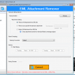 eSoftTools EML Attachment Remover 2.5 full screenshot