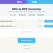 MP4 to MP3 Converter 1.0 full screenshot