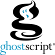 Ghostscript (x64 bit) 9.53.3 full screenshot