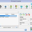 FSS Audio Converter 2.3.0.2 full screenshot