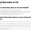 Read Barcode in C# 2021.6.3 full screenshot