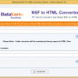 Datavare NSF to HTML Converter 1.0 full screenshot