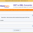 DataVare OST to EML Converter Expert 1.0 full screenshot