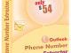 Outlook Phone Number Grabber 6.6.1.22 full screenshot
