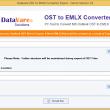 DataVare OST to EMLX Converter Expert 1.0 full screenshot