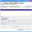Convert DBX file into MBOX 2.4.5 full screenshot