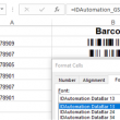 GS1 DataBar Barcode Font Package 17.10 full screenshot