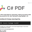 C# PDF 4.4.2 full screenshot
