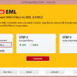 Convert Outlook Email to EML Format 3.0 full screenshot