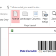 Code 128  Access Barcode Generator 16.05 full screenshot