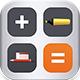 Calculator + Drawing App with AdMob Banner for iPad 32561 1 full screenshot