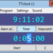 TTclock 1.44 full screenshot