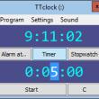 TTclock 1.45 full screenshot