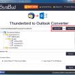 SysBud Thunderbird to Outlook Converter 1.0 full screenshot