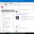 Microsoft Outlook 2016 16.0.6741. full screenshot