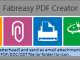 Fabreasy PDF Creator 1.17.2 full screenshot