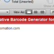 PDF417 Filemaker Barcode Generator 16.12 full screenshot