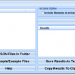 Extract Data & Text From Multiple JSON Files Software 7.0 full screenshot