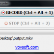 Vov Screen Recorder 1.6 full screenshot