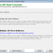 Birdie eM Client Converter 2.0.1 full screenshot