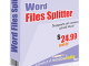 Word Files Splitter 3.5.0 full screenshot